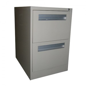 Compact 2 Drawer Filing Cabinet